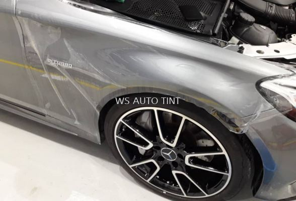 Suntek USA brand Paint Protection Film to protect original car paint