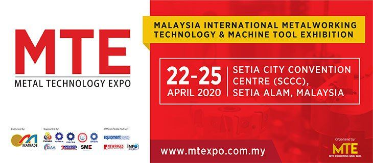 Malaysia Technology Expo (MTE) 2020 April 2020