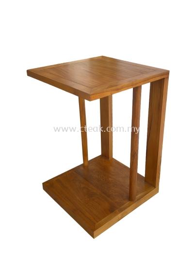 C Shape Side Table