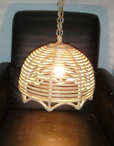 Ceiling Rattan Lamp 0082