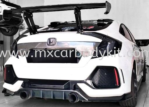 HONDA CIVIC FC 2016 TYPE R REAR DIFFUSER  CIVIC FC 2016 HONDA