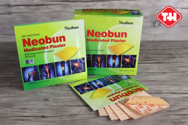 Neobun Medicated Plaster with Ginger & Lemongrass Oil Aroma (MAL14055182XC)