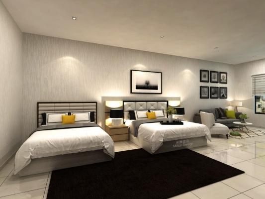 Johor / Johor Bahru Badroom 3D Design