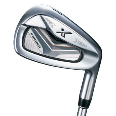 XXIO X FORGED Irons 5-PW,AW,SW ( 8pcs ) R FLEX MIYAZAKI AX-1 GRAPHITE SHAFT