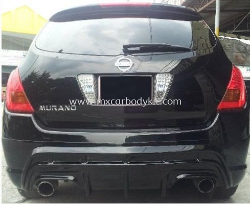 NISSAN MURANO 2004-08 J-EMOTION DESIGN REAR SKIRT