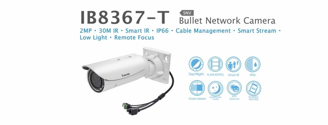 IB8367-T. Vivotek Bullet Network Camera
