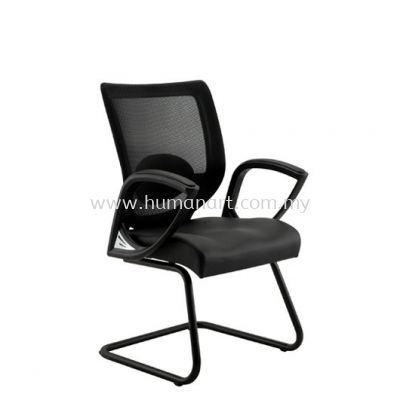 KAPAS 1 VISITOR ERGONOMIC MESH CHAIR WITH FIXED ARMREST