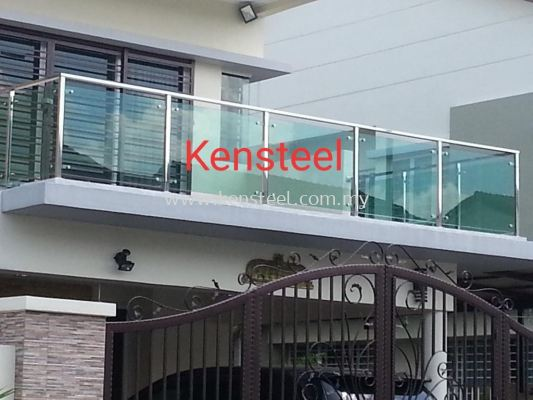 Stainless steel Glass fencing 38
