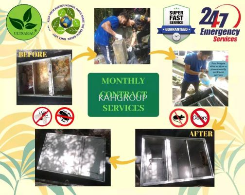 Cleaning Centreliza Grease Trap