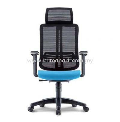 HERMAN 2 HIGH BACK ERGONOMIC MESH CHAIR WITH HEIGHT ADJUSTABLE ARMREST