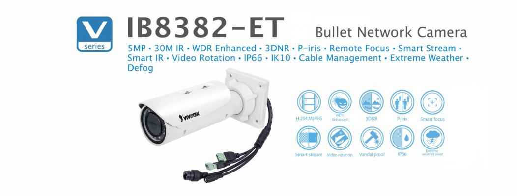 IB8382-ET. Vivotek Bullet Network Camera