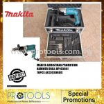 MAKITA HP2050X1 2-SPEED HAMMER DRILL (COMBO KIT) WITH 70PCS ACCESSORIES