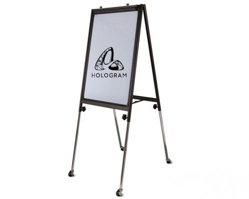 FC23R CONFERENCE FLIP CHART-WHITE FRAME
