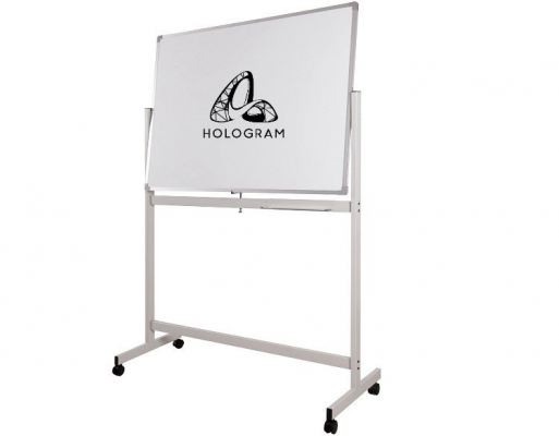 DMS23 MOBILE DOUBLE SIDED WHITEBOARD
