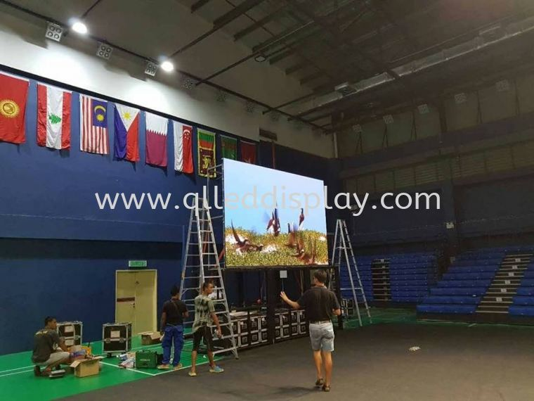 Projects Of Badminton Court / Sports Center LED Display Screen