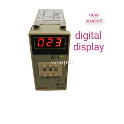 A & A analog digital display temperature controller