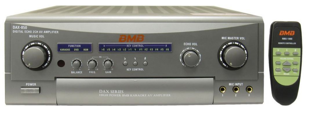 BMB DAX-850 II 400W 2-Channel Karaoke Mixing Amplifier