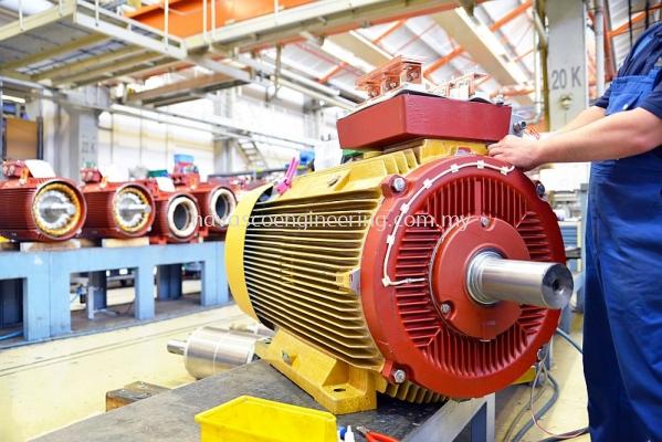 Electrical Troubleshoot, Motor Rewinding
