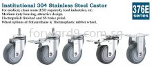 376E Series Stainless Steel Castor Castor Wheel