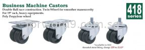 418 Series Business Machine Castor Castor Wheel