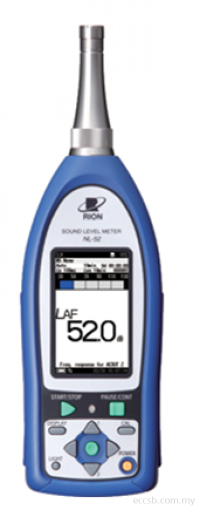 Rion Sound Level Meter Class 1 NL-52