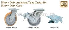 510 Series Heavy Duty Castor Castor Wheel