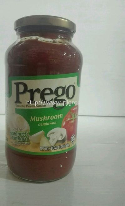 Prego Mushrooms 680g
