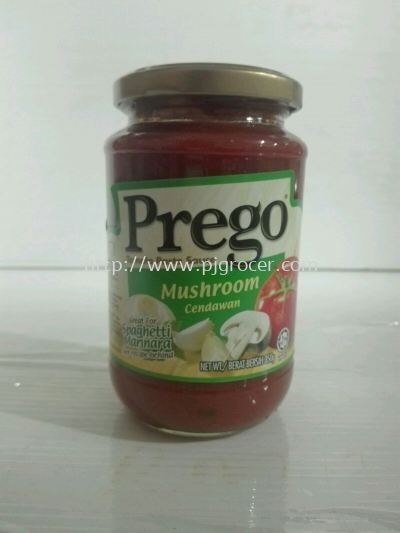 Prego Mushrooms 350g