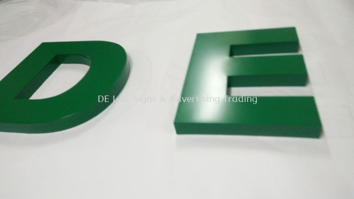 3D box up wordings