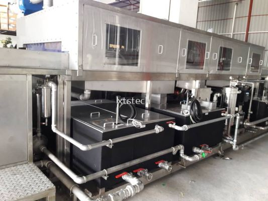 4 Stage Cleaning Machine System