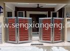Stainless Steel Folding Main Gate Stainless Steel Fencing Stainless Steel