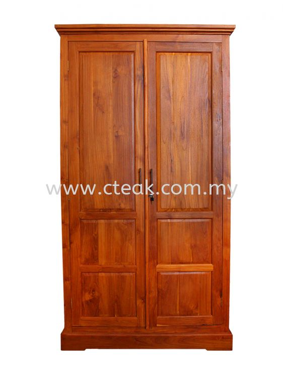 2 Doors Cupboard With Drawers inside