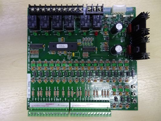 TRANE OUTDOOR IC BOARD (STARTER CONTROLLER-UC4C) FOR RAUP MODEL