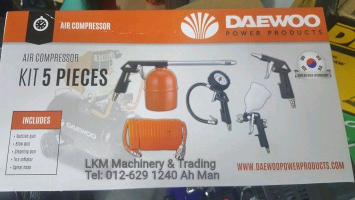 Daewoo Air Compressor Kits 5pcs