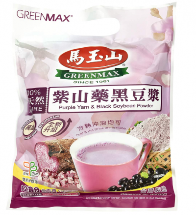 Greenmax Purple Yam & Black Bean Cereal