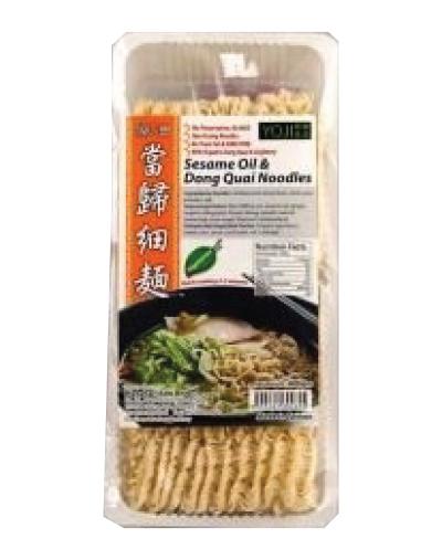 Yoji Sesame Oil and Dong Quai Noodles