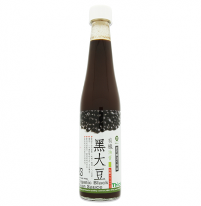 Organic Black Bean Sauce-Thick