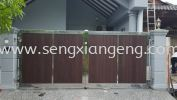 Stainless Steel Swing Main Gate Stainless Steel Gate