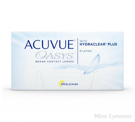 Acuvue Oasys HYDRACLEAR PLUS MONHLY (6 PCS)