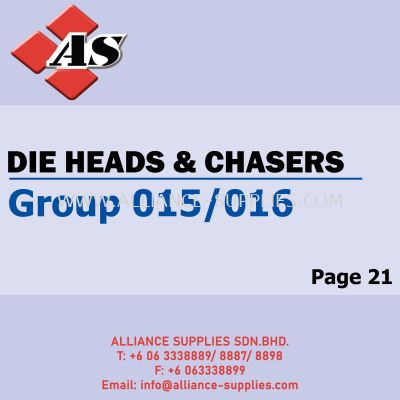 Die Heads & Chasers (Group 015/016)