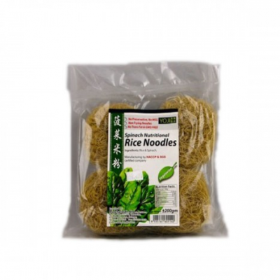 Yoji Spinach Nutritional Rice Noodles