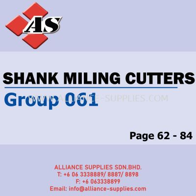 Shank Milling Cutters - Die & Mould (Group 061)