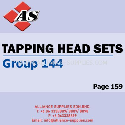 Tapping Head Sets (Group 144)