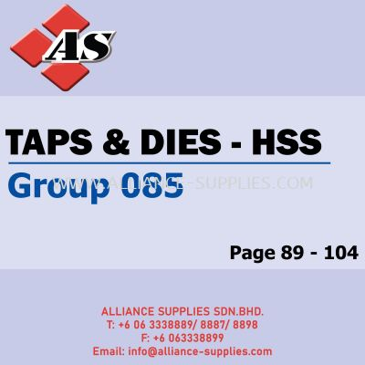 Tapes & Dies - HSS (Group 085)
