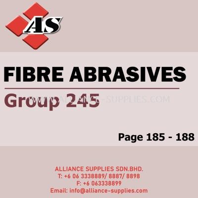 Fibre Abrasives (Group 245)