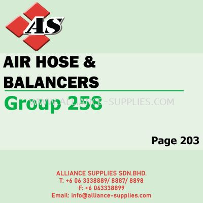 Air Hose Balancers (Group 258)