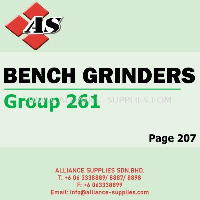 Bench Grinders (Group 261)