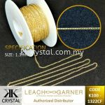 Suasa (Gold Filled), Extension (Chain), 1322CF, 0.5meter/pack