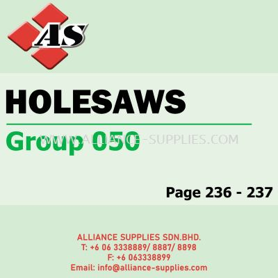 Holesaws (Group 050)