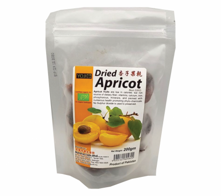 Yoji dried Apricot- Seedless